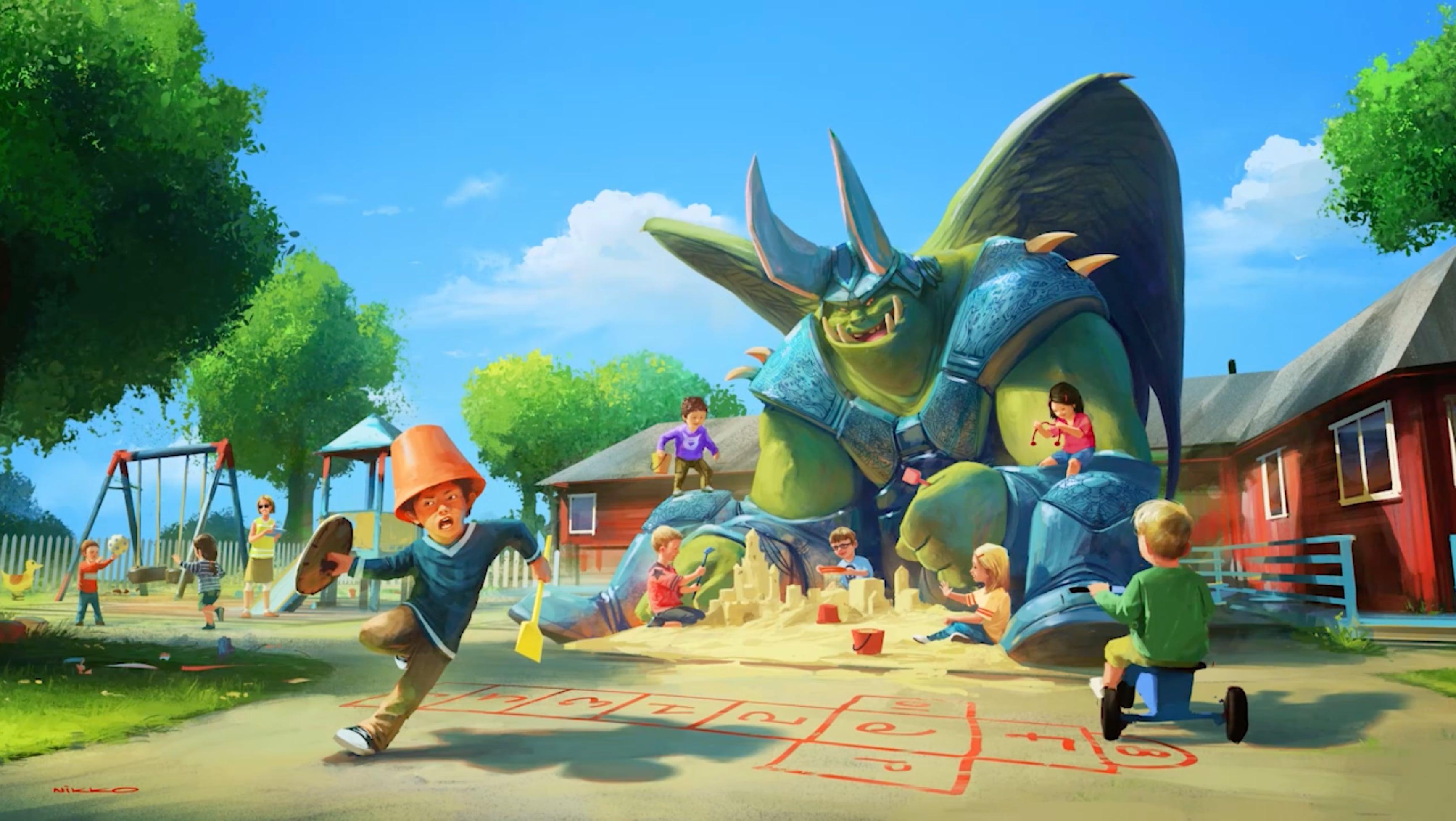 World of Warcraft Style Game